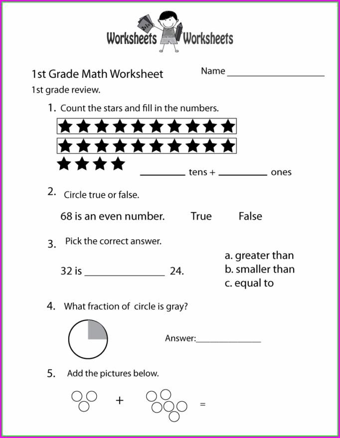 Grade 2 English Math Worksheets