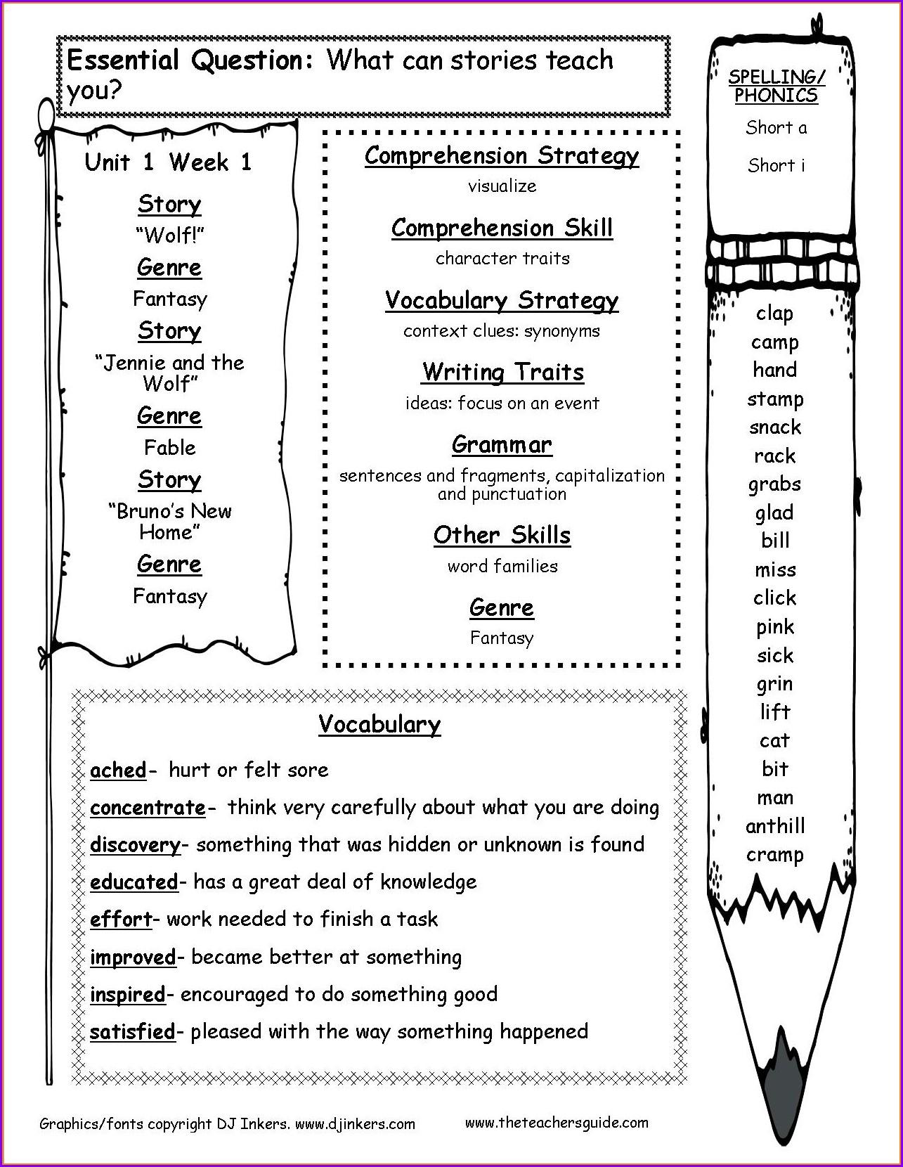Grade 3 3rd Grade Reading Comprehension Worksheets