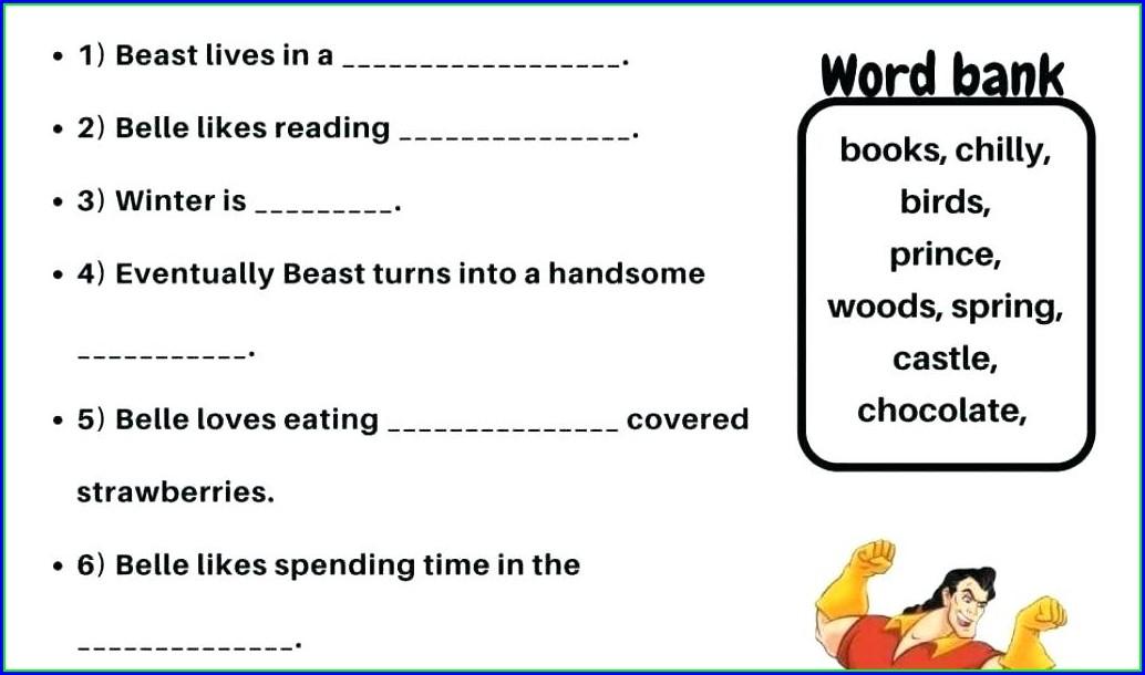 Grade 3 English Worksheets Online