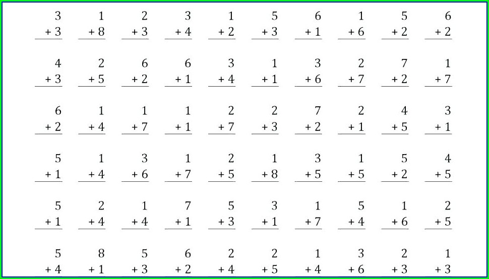 Grade 4 Math Worksheets Addition And Subtraction