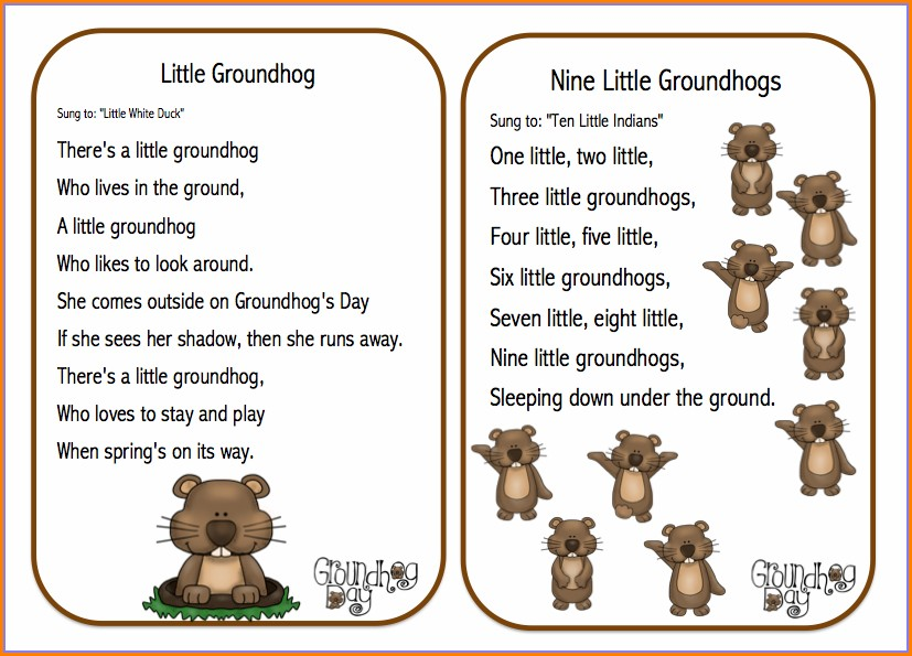 Groundhog Day Lesson Plan Objectives