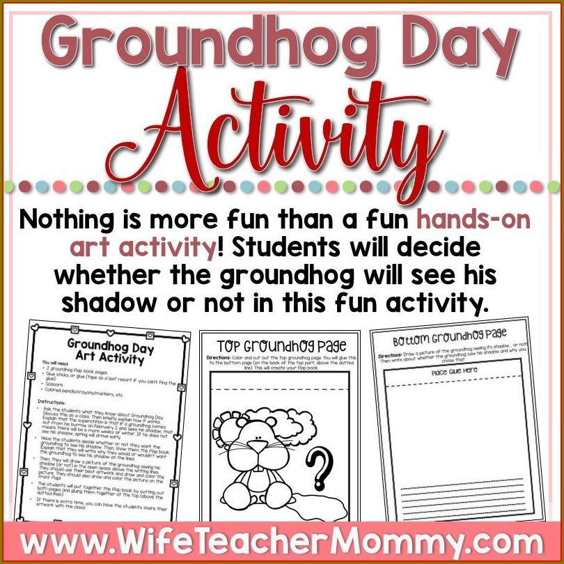 Groundhog Day Lesson Plans 5th Grade