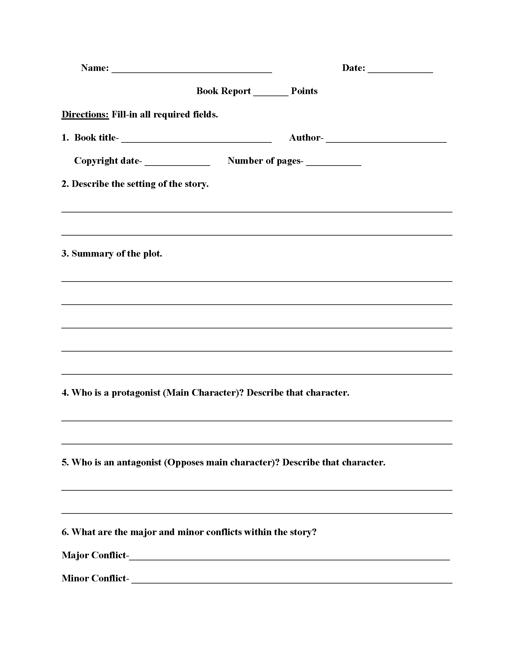 High School 9th Grade Health Worksheets