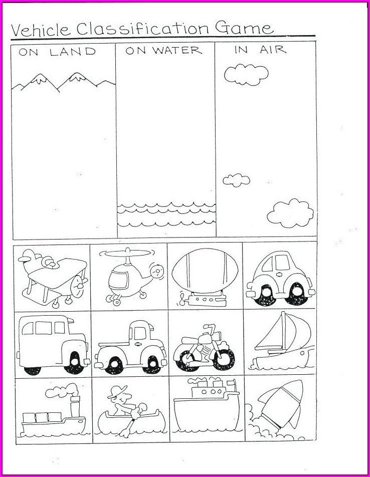 Human Life Cycle Worksheet Kindergarten