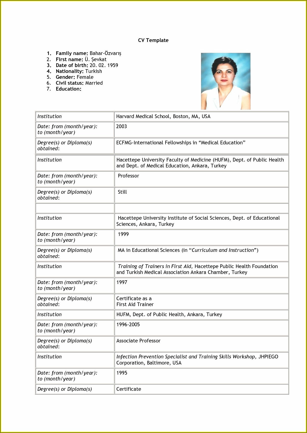 Job Simple Resume Format Pdf Download