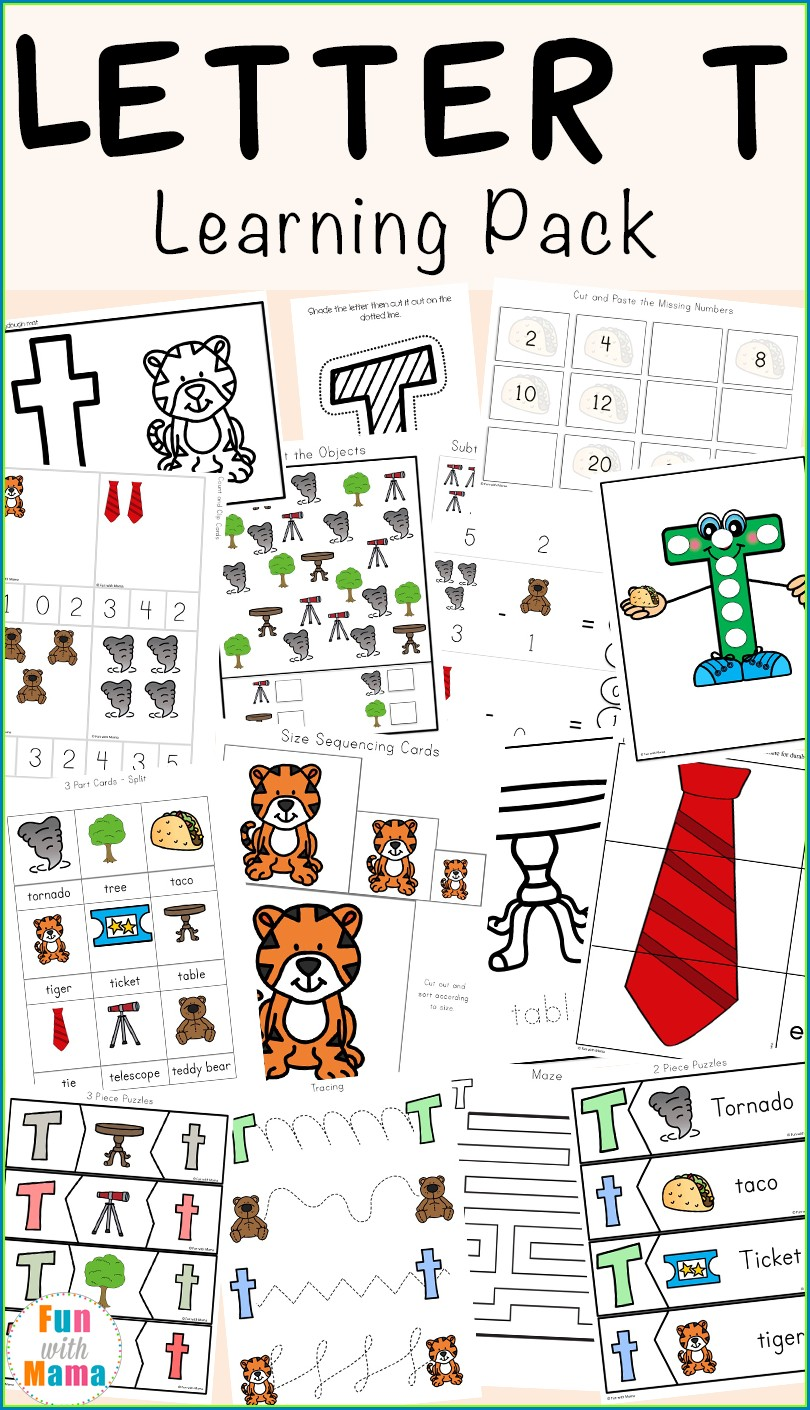Kindergarten Nursery English Worksheets Pdf