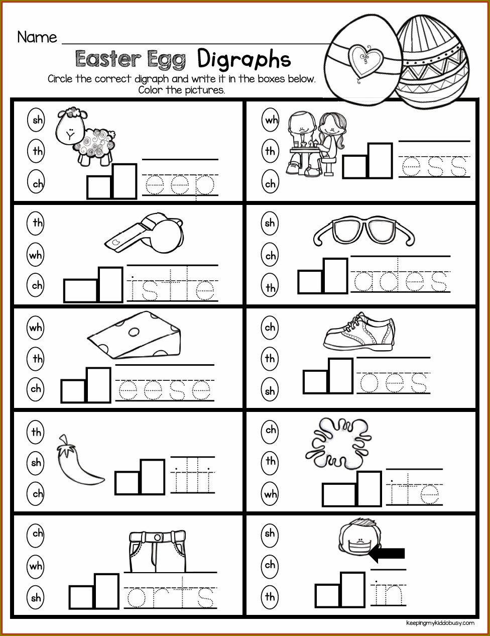 Kindergarten Student Phonics Worksheets For Kindergarten
