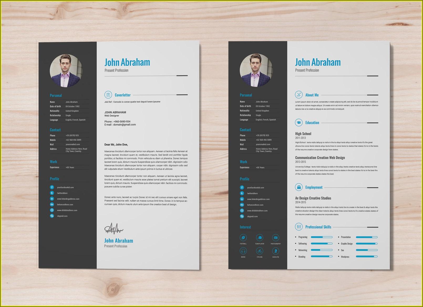 Latest Resume Format Docx