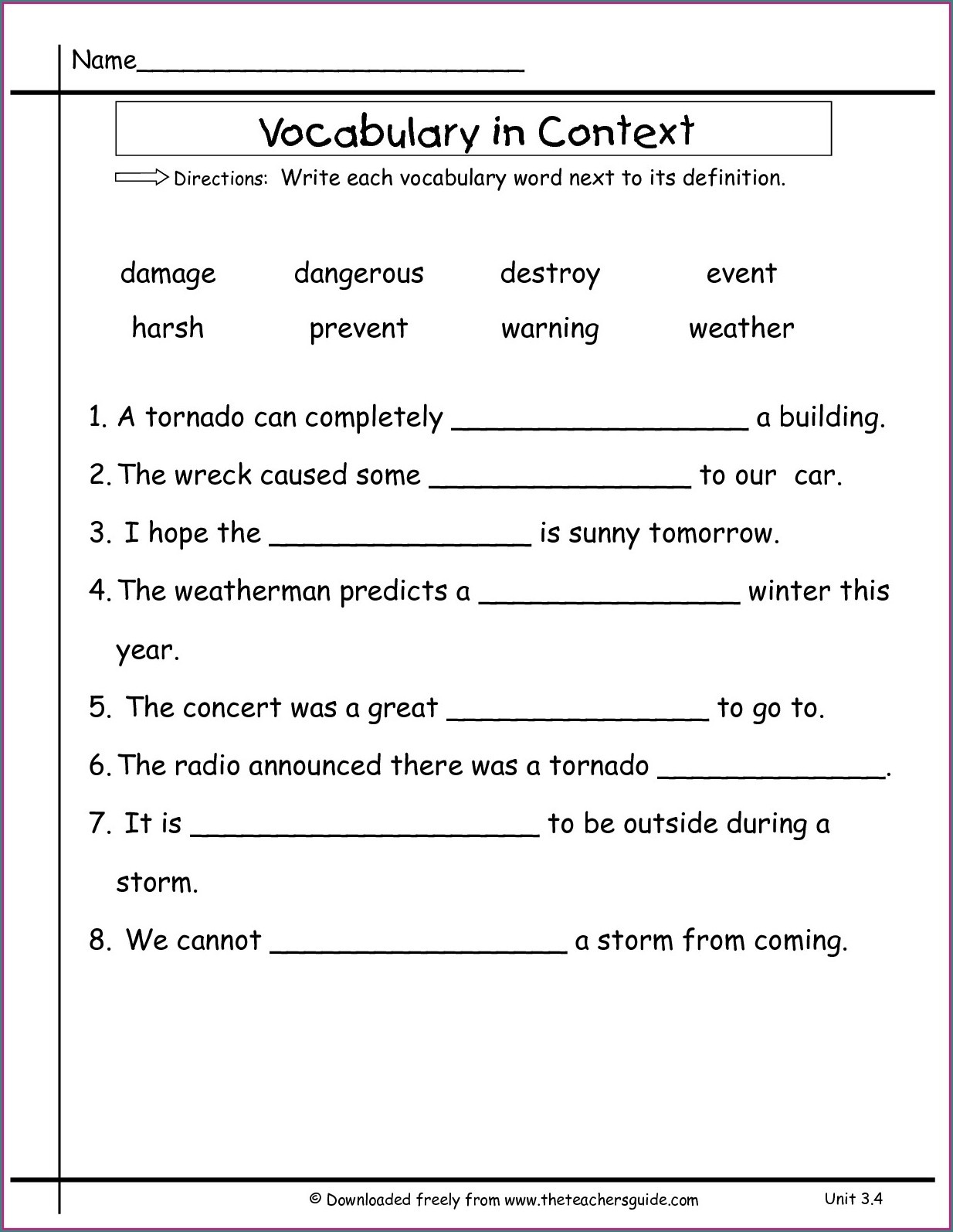 Linking Verbs Worksheet Grade 2