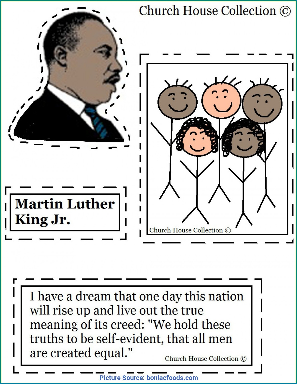 Martin Luther King Jr Worksheets Elementary