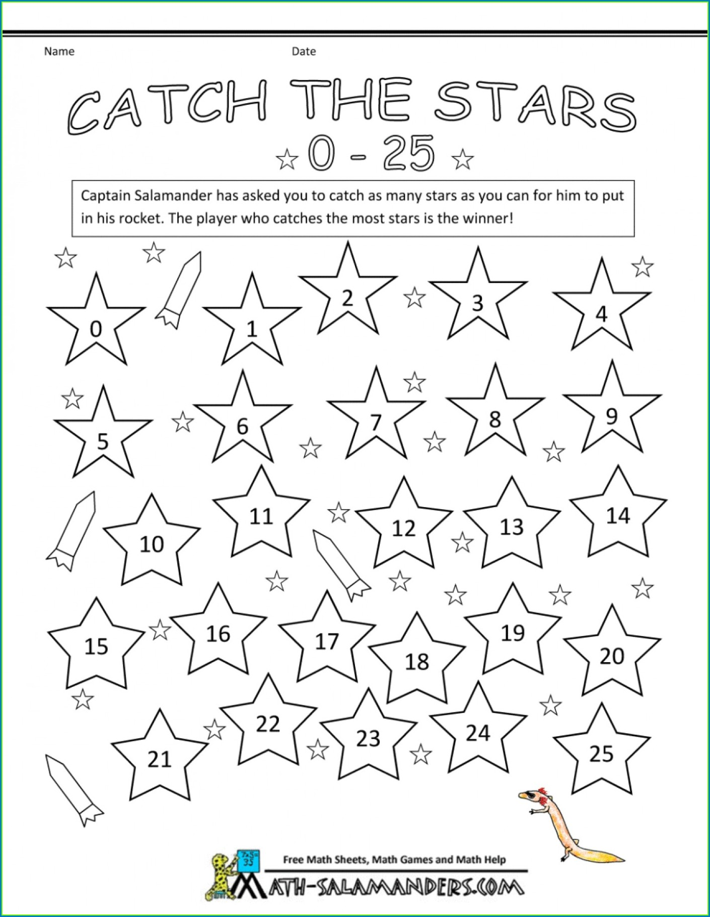 Math Games Worksheets High School