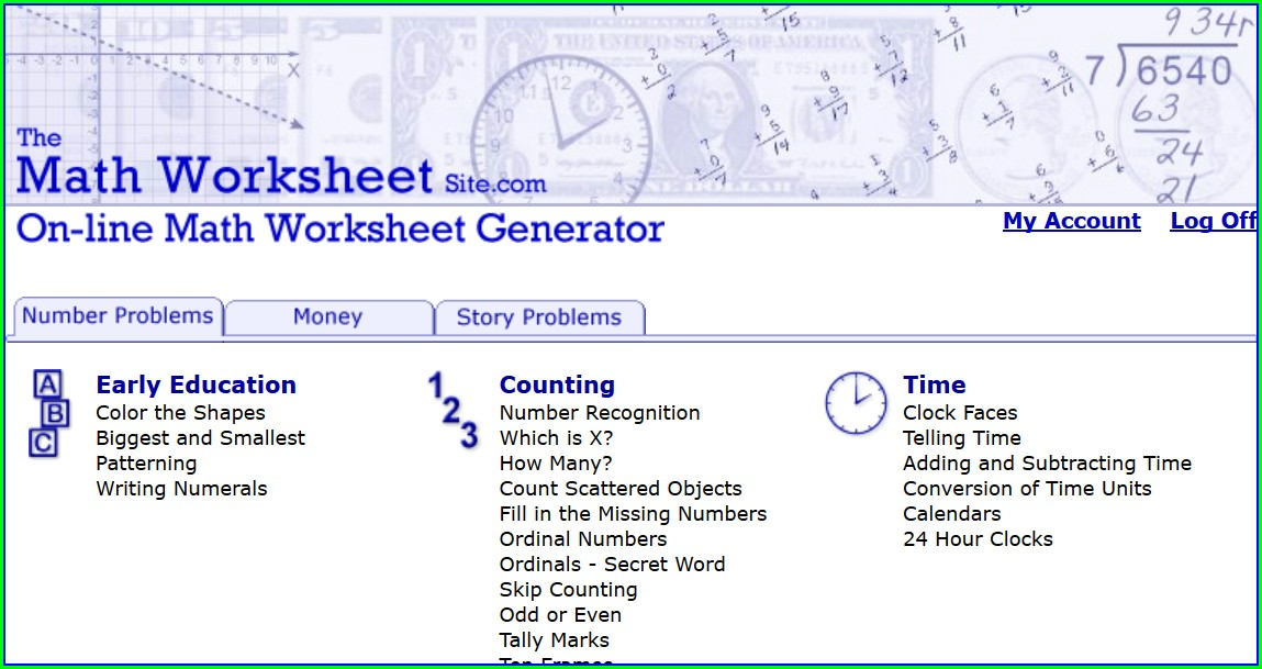 Math Worksheet Maker Free Download