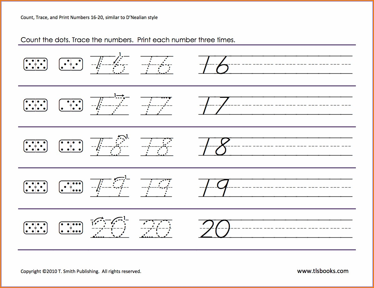 Math Worksheets For Kindergarten Numbers 11 15