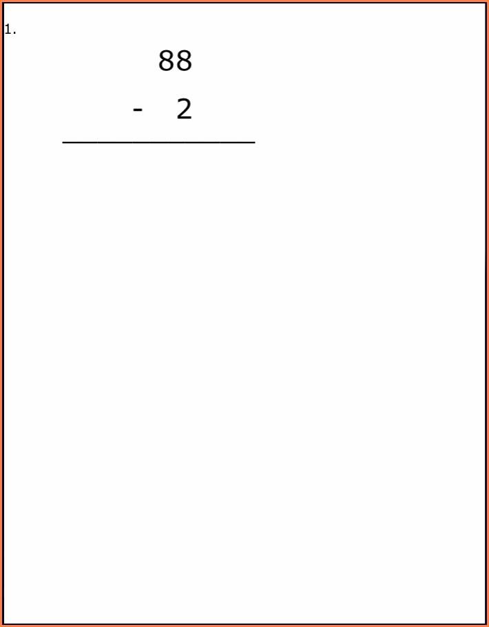 Math Worksheets Grade 2 Canada