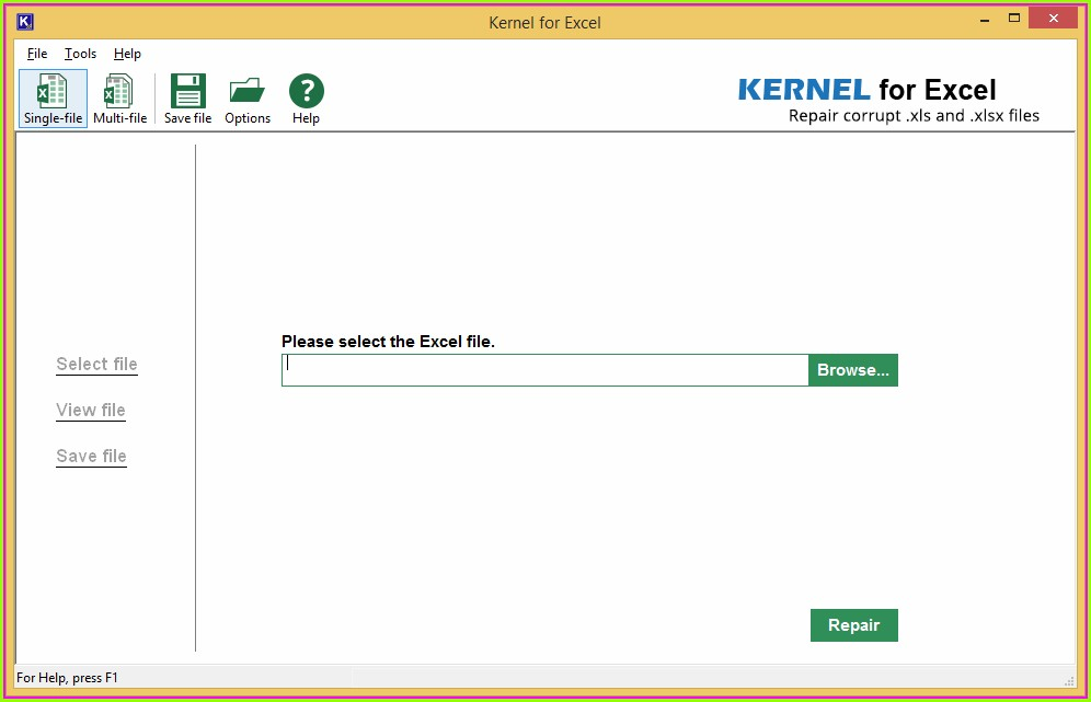 Microsoft Excel File Repair Online