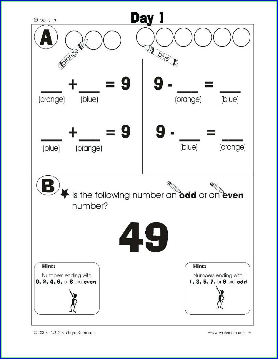 Multiplication 1st Grade Math Worksheets Pdf