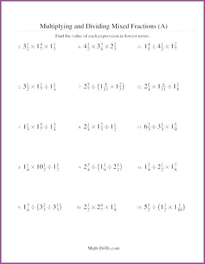 Multiplying Negative Numbers Worksheet Tes