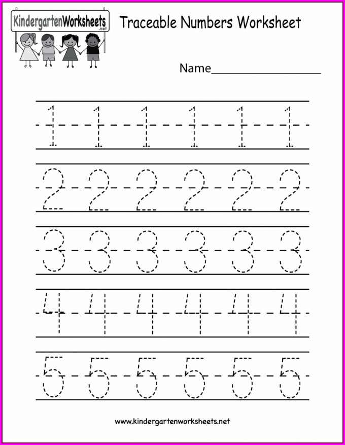 Number Bond Worksheet Kindergarten
