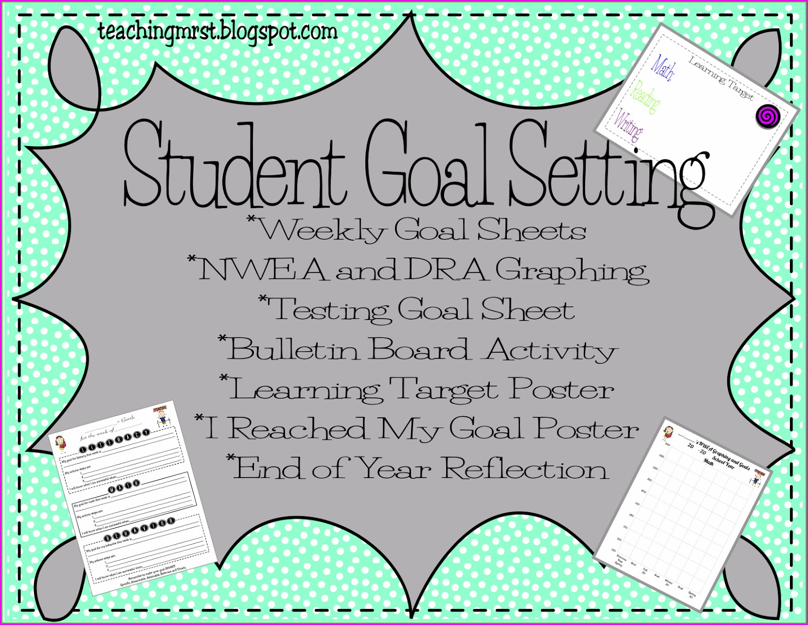 Nwea Map Student Goal Setting Worksheet