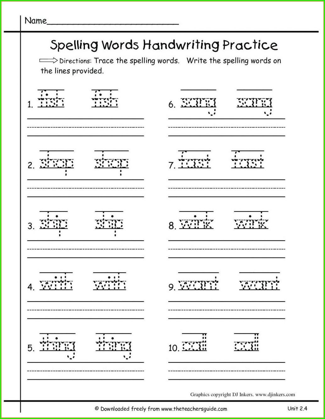 Phonics Kindergarten English Worksheets Pdf