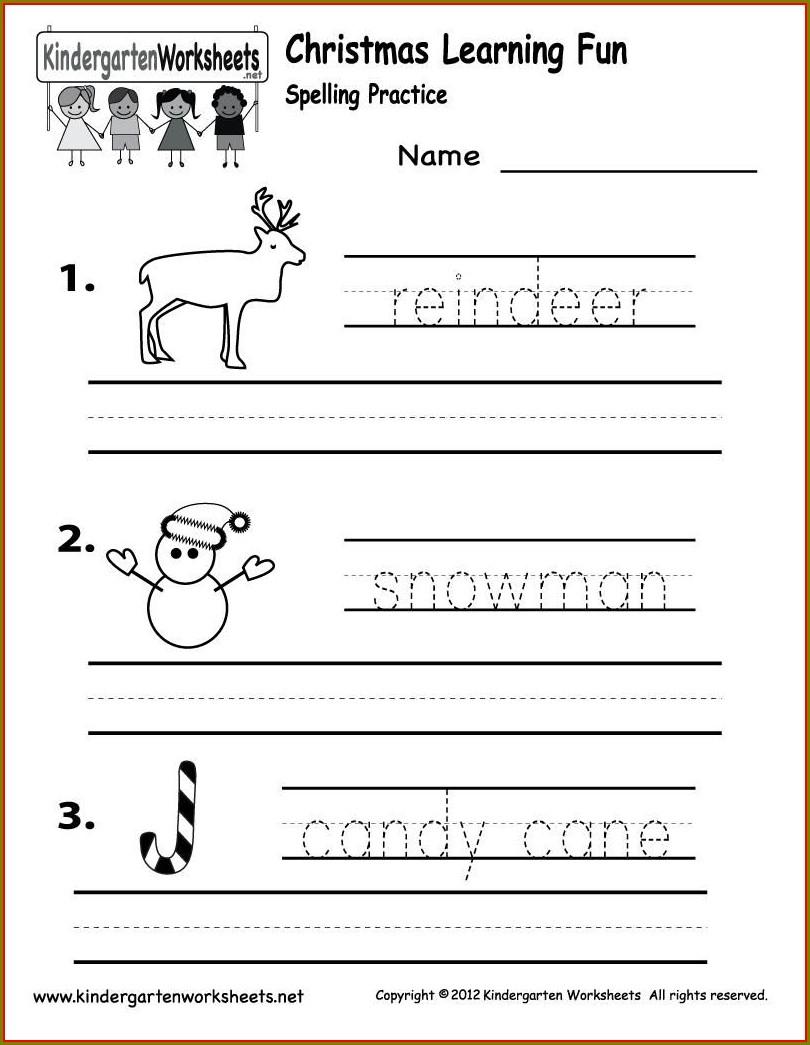 Phonics Worksheets For Kindergarten Pdf