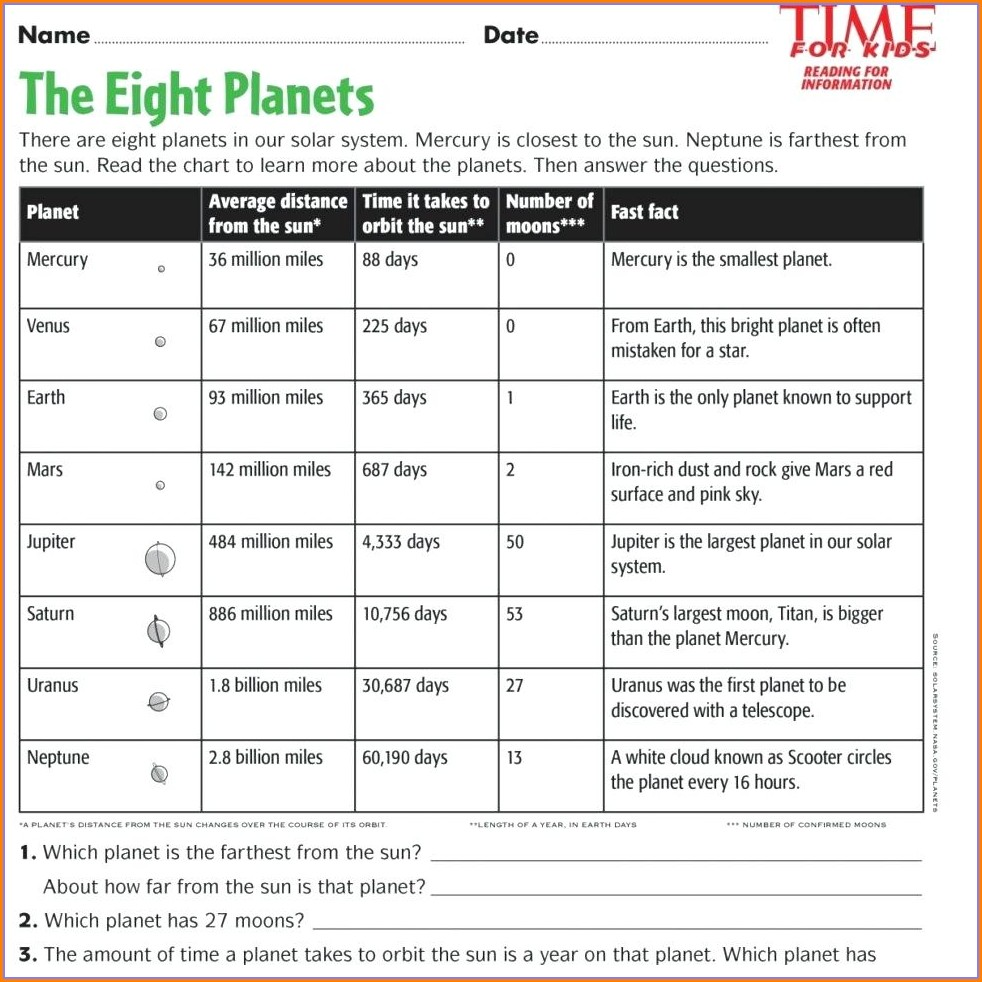 Preschool Worksheet Age 4