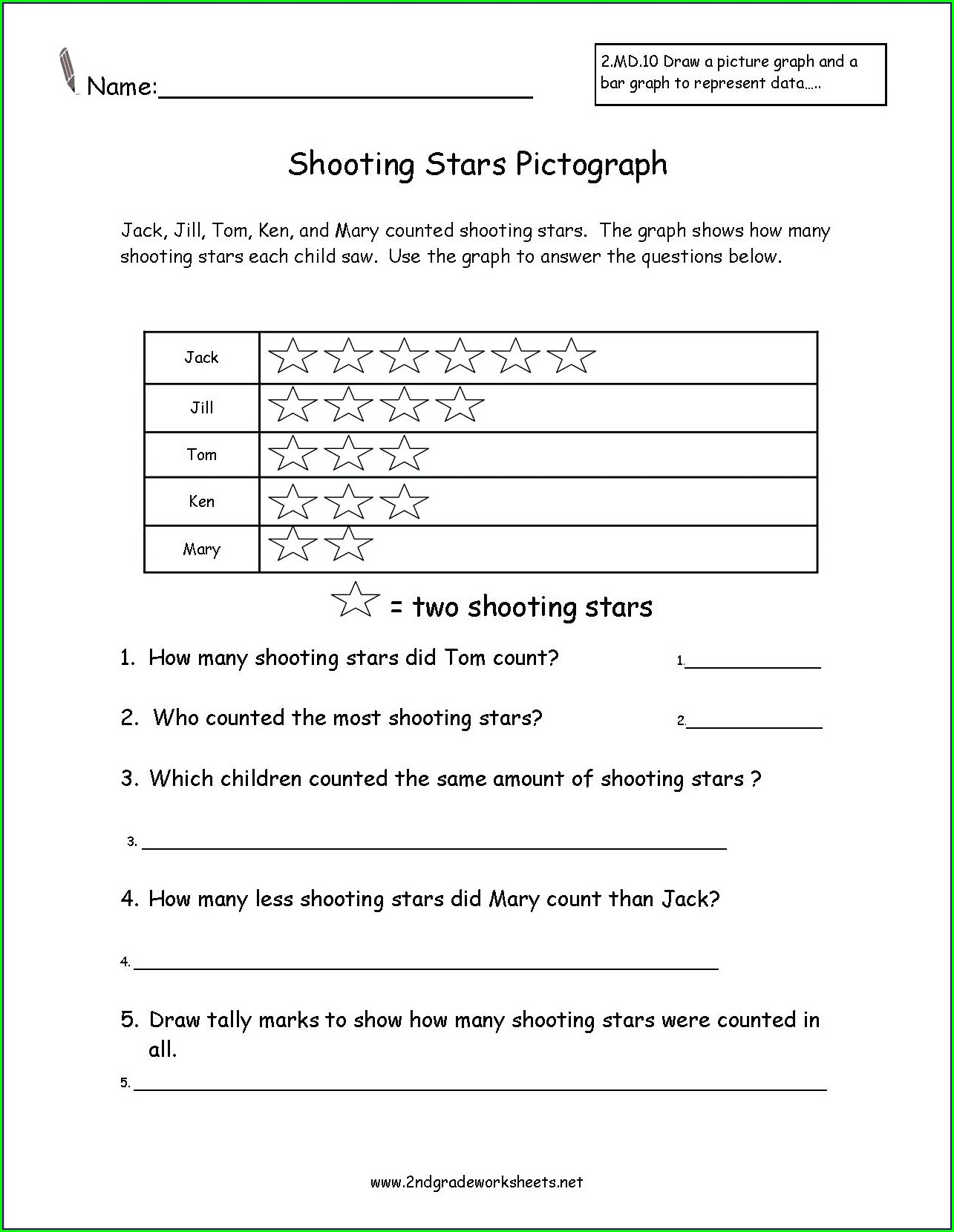 Printable 2nd Grade Reading Comprehension Worksheets Pdf