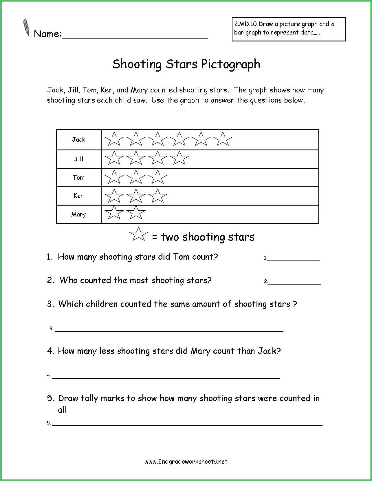 Printable 2nd Grade Reading Comprehension Worksheets Pdf