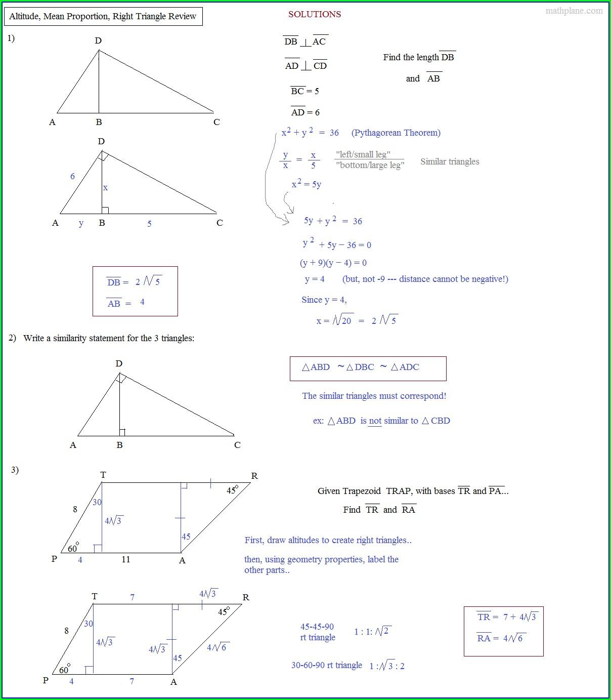 Printable Congruent Triangles Worksheet
