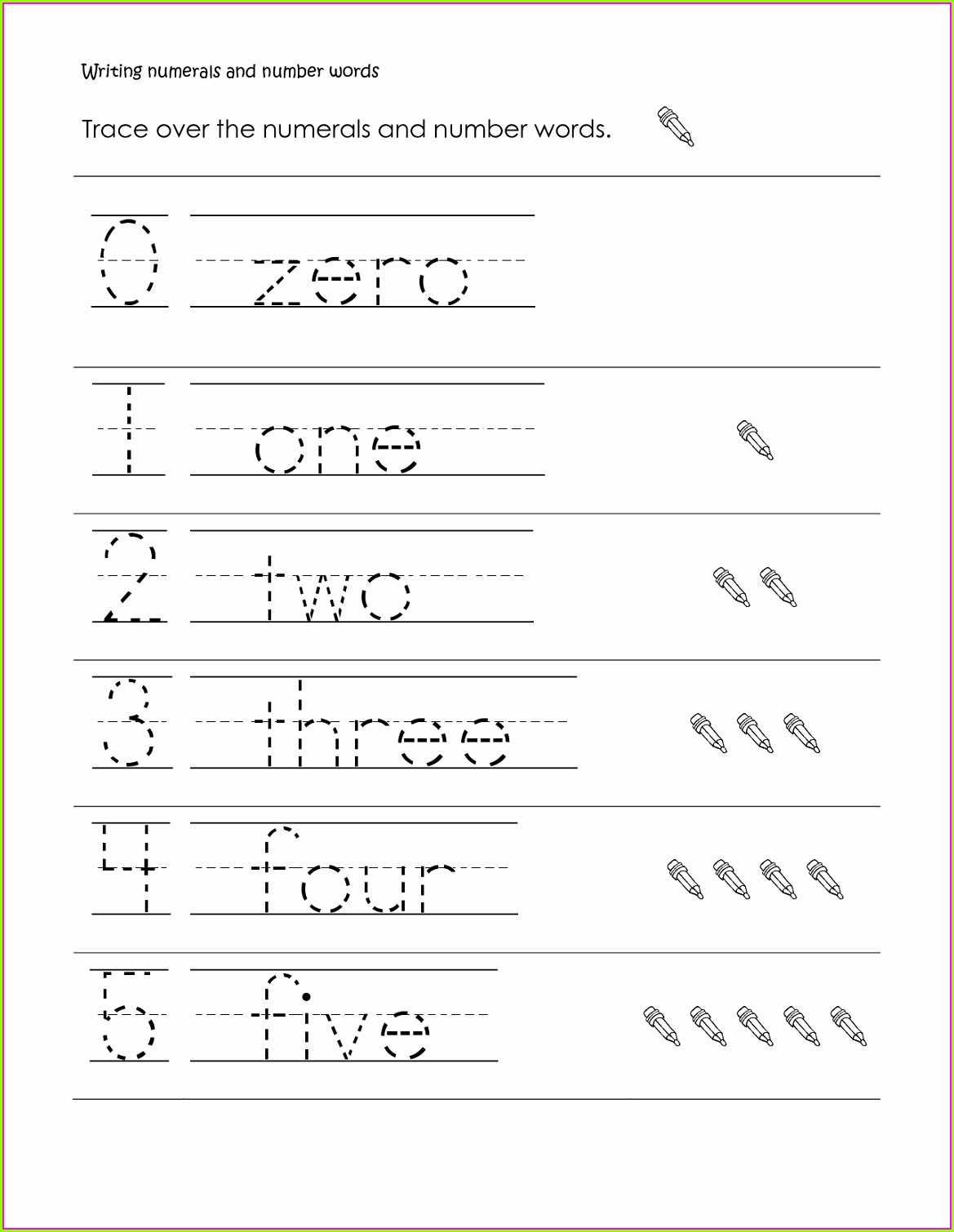 Printable Grade 1 Writing Worksheets