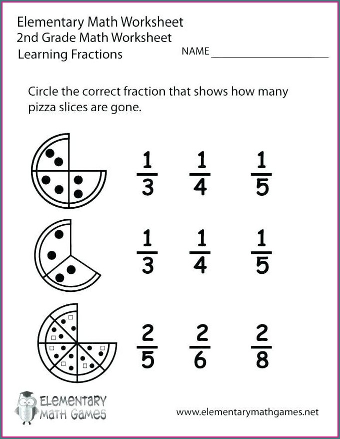 Printable Math Facts Worksheets 2nd Grade