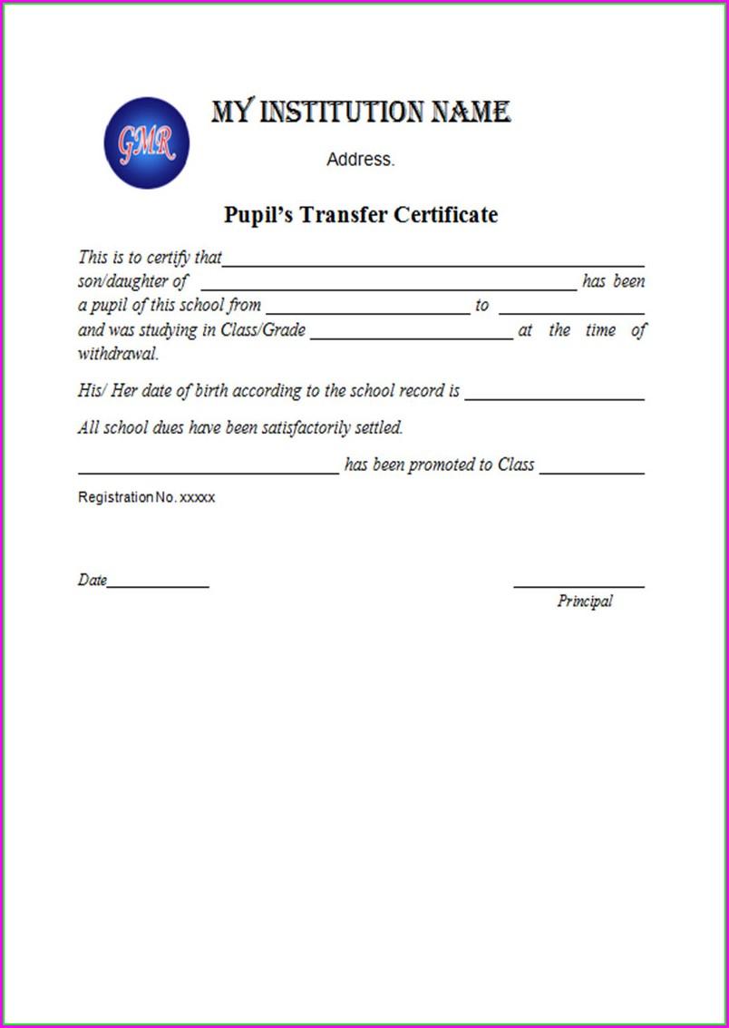 Printable School Leaving Certificates