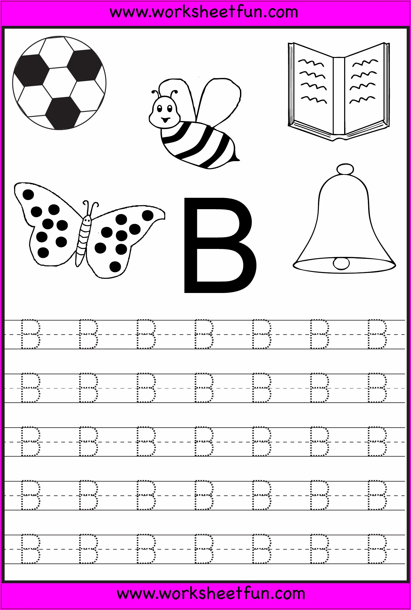 Printable Writing Worksheets For Kindergarten