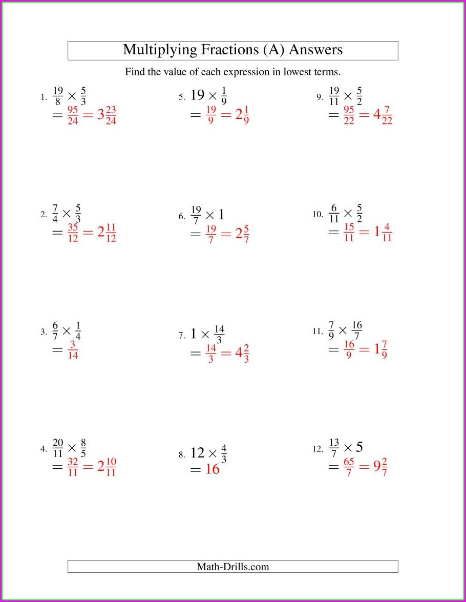 Properties Of Whole Numbers Worksheets Pdf