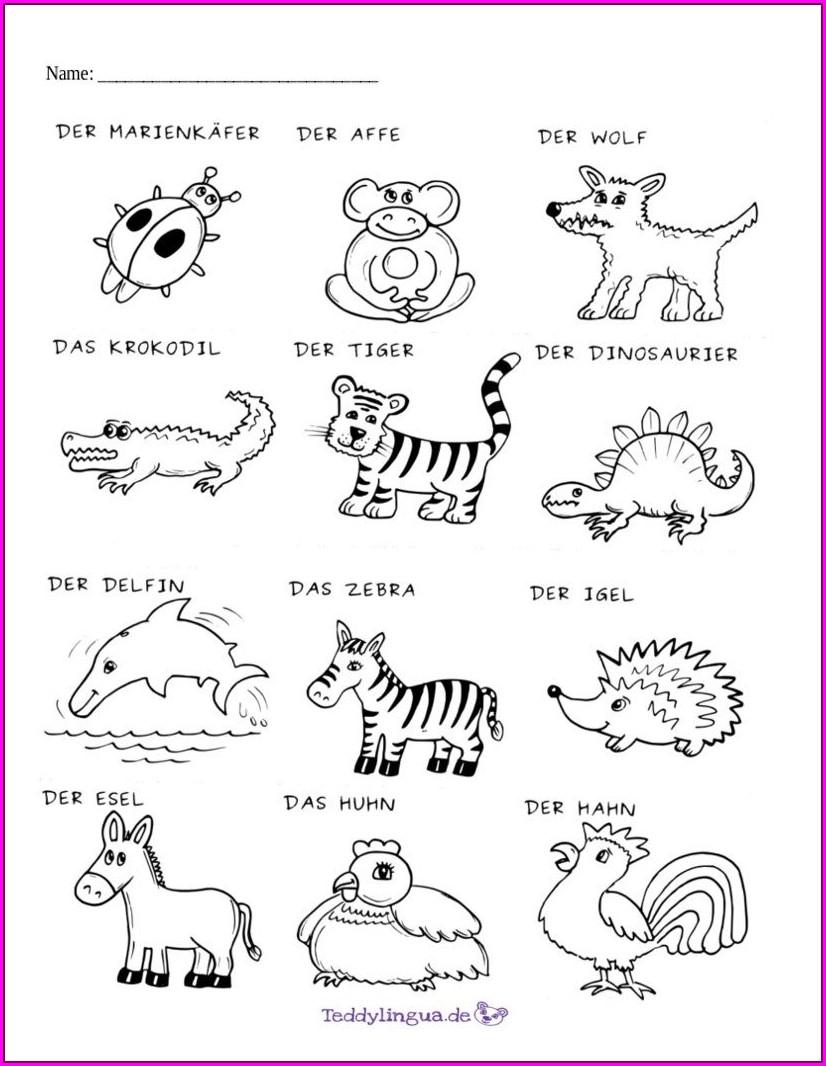 Reading Comprehension Worksheet For Kindergarten Printable