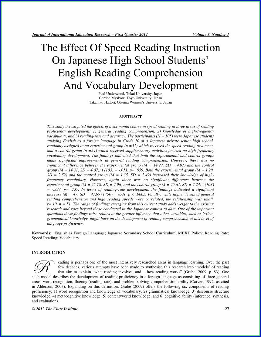 Reading Comprehension Worksheets University Students