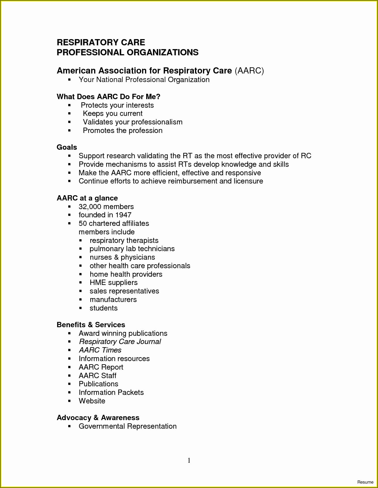 Respiratory Therapist Resume Samples Entry Level