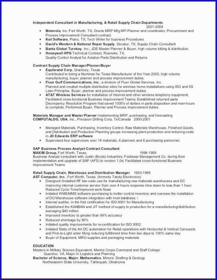 Resume For Accountant Job Format