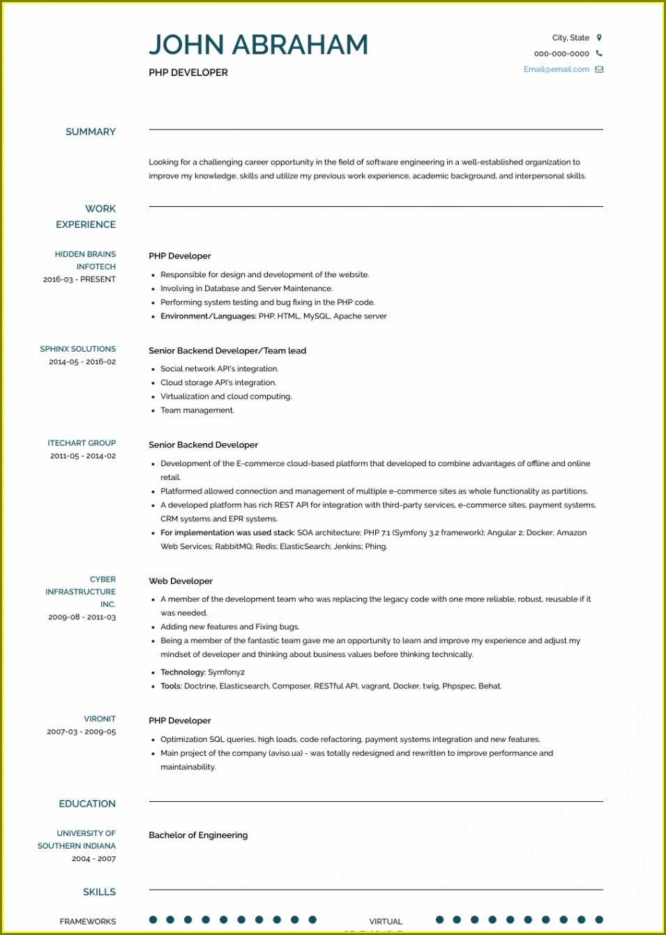 Resume Format For Accountant In Word Format Download Free