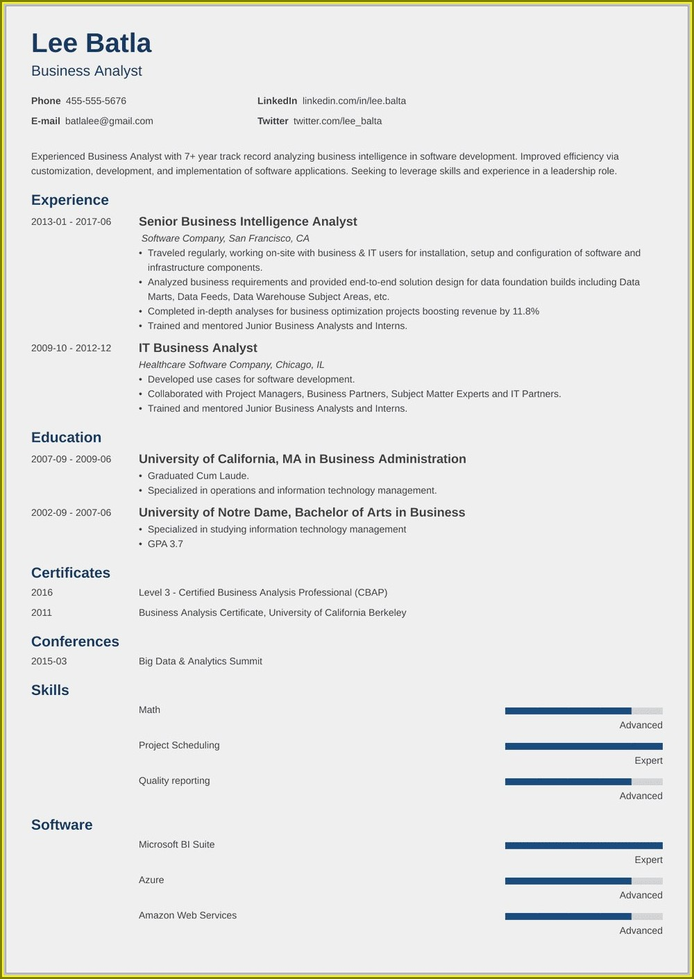 Resume Format For Electrical Engineer Fresher