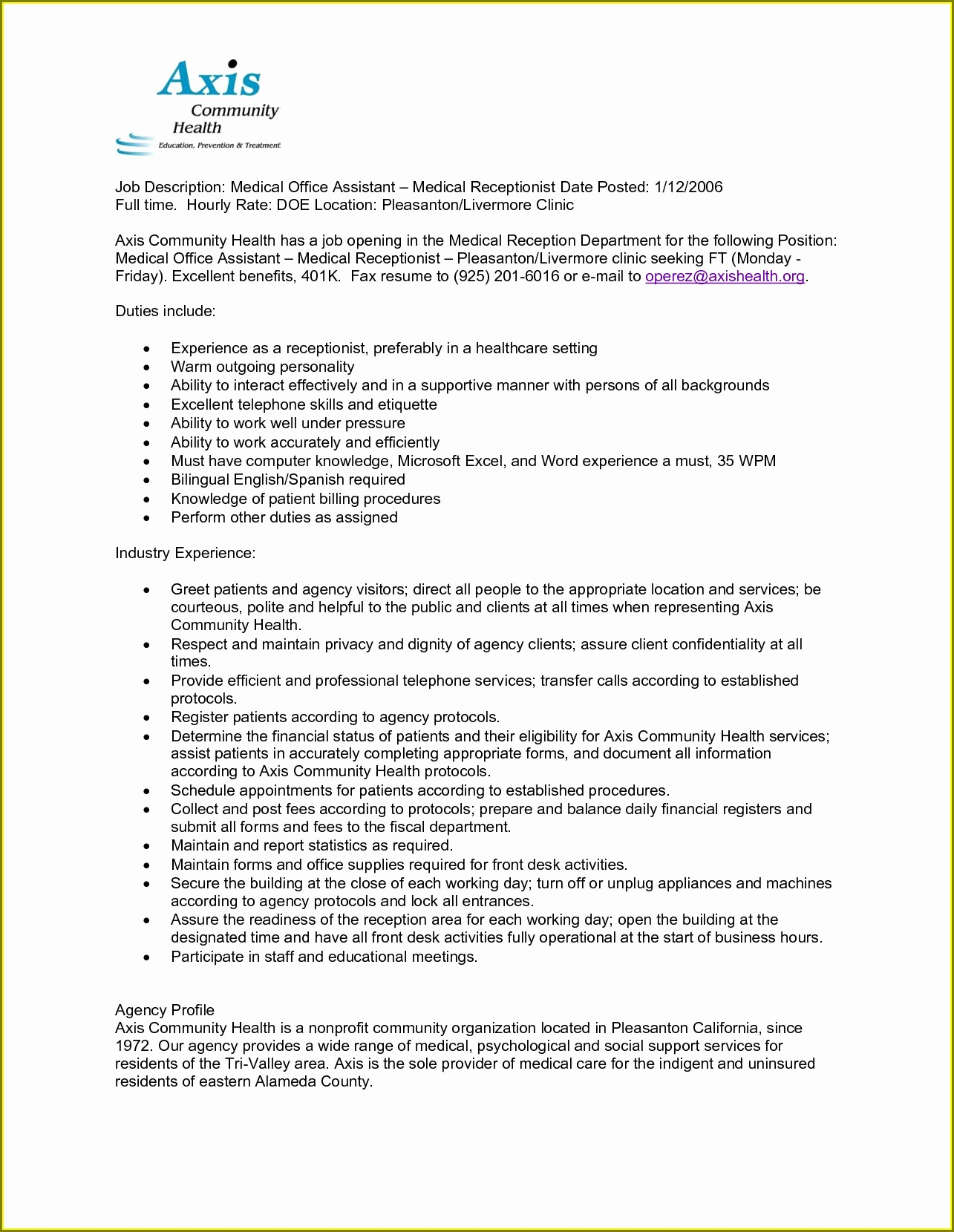 Resume Objective For Hvac Technician