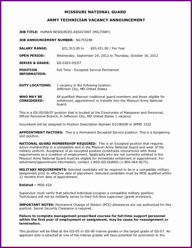 Sample Of Resume For Cleaning Job