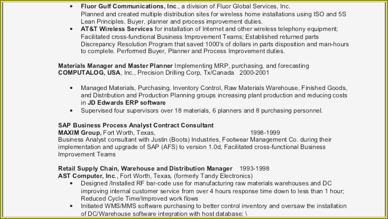 Sample Resume For Experienced Hvac Mechanical Engineer