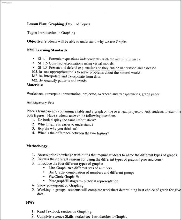 Scientific Method Graph Worksheet Answer Key