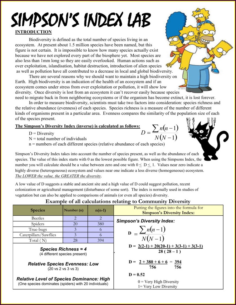 Scientific Method With The Simpsons Worksheet Answers
