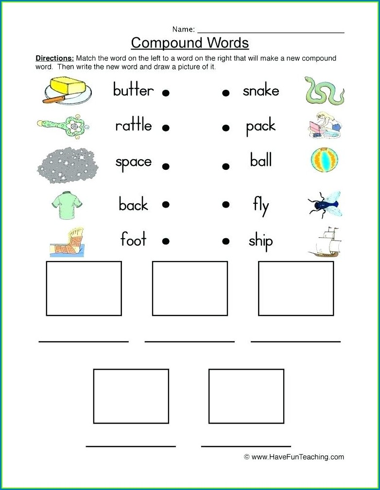 Second Grade Diagram Worksheet