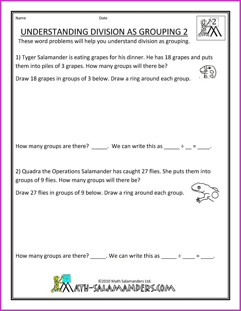 Second Grade Economics Worksheets
