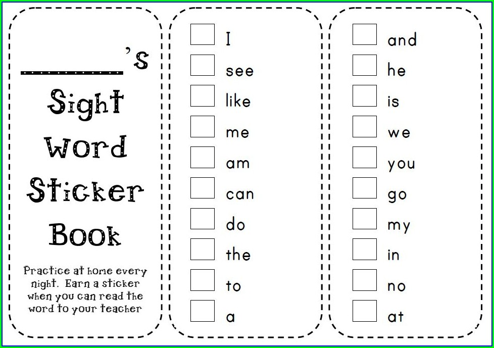 Sight Word See Worksheet Free
