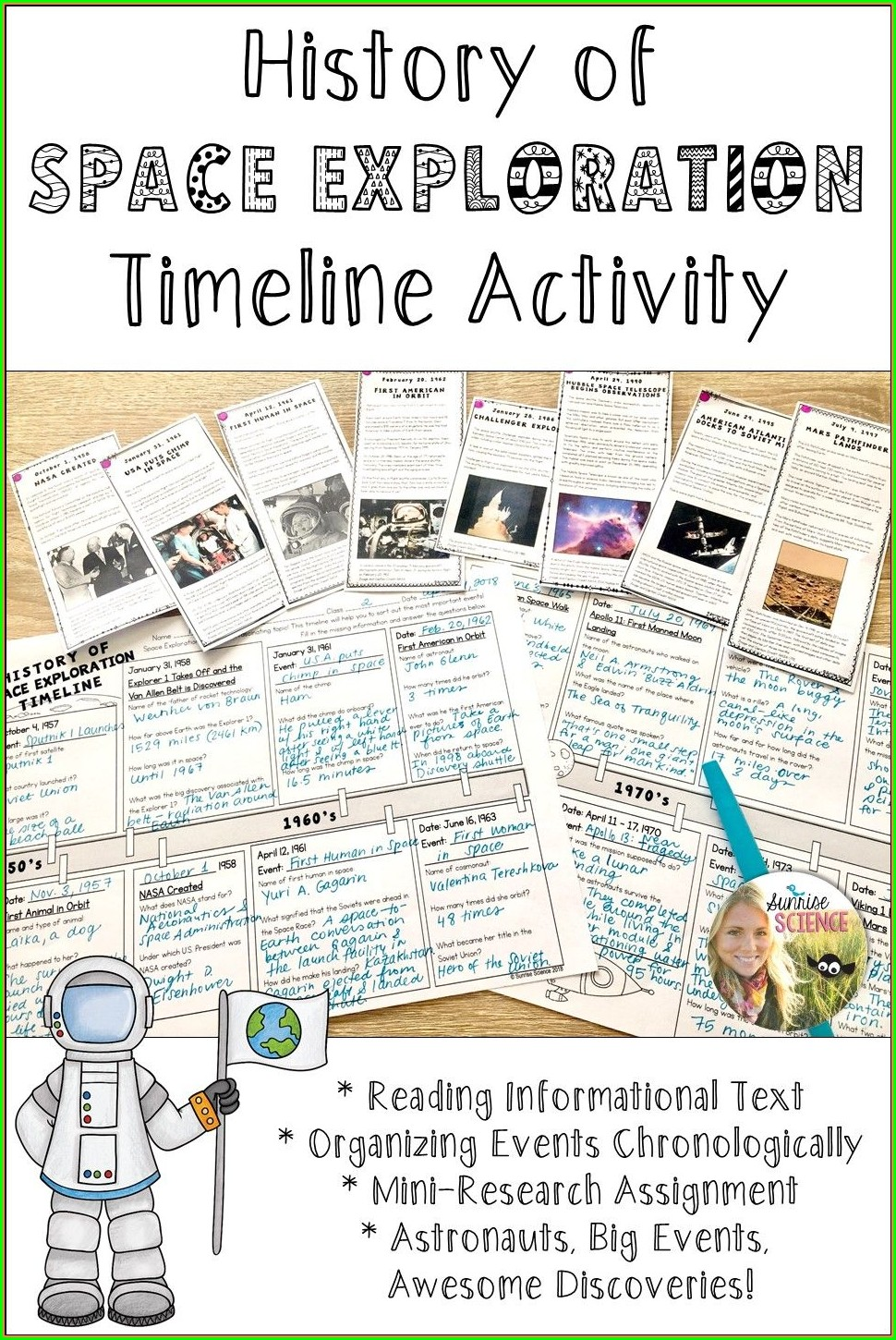 Space Exploration Timeline Worksheet Answers