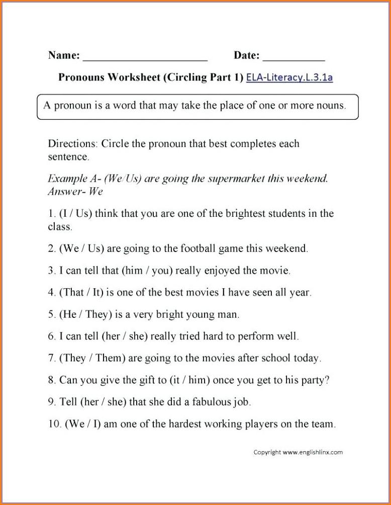 Subject Verb Agreement Worksheet Pdf 2nd Grade